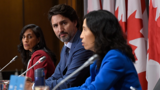 Trudeau announces vaccine pact as COVID-19 cases hit 150,000