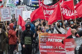 Unions mark Labour Day with calls for increased COVID-19 help