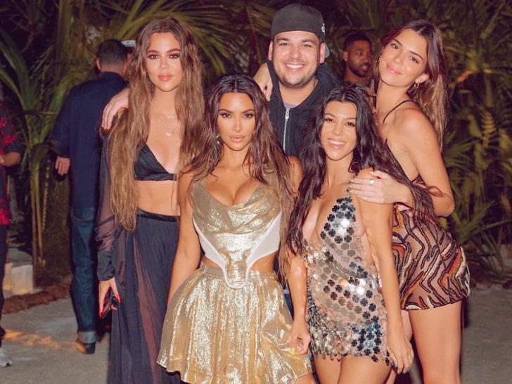 Inside Kim Kardashian's 40th Birthday On Private Island
