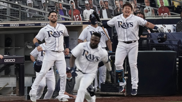 Tampa Bay Rays hold off Houston Astros' comeback to advance to World Series