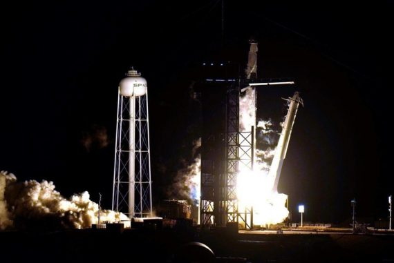 SpaceX capsule with 4 astronauts reaches space station – Terrace Standard