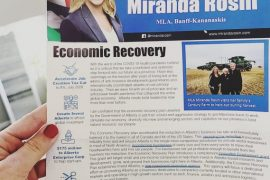 MLA flyer claiming 'worst of COVID-19 pandemic behind us' sent in September: UCP