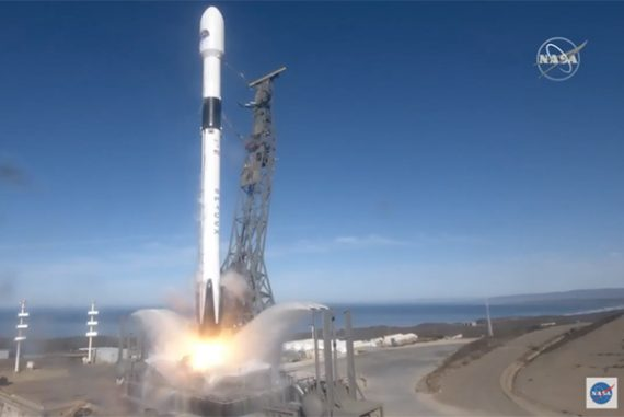 SpaceX launches satellite for NASA and ESA to monitor rising sea levels