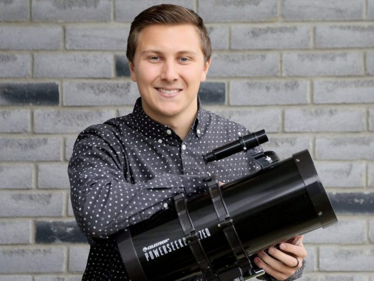 This rocks! Western University student spots never-before-seen asteroid