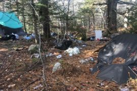 Abandoned tent sites shine light on homelessness in Halifax