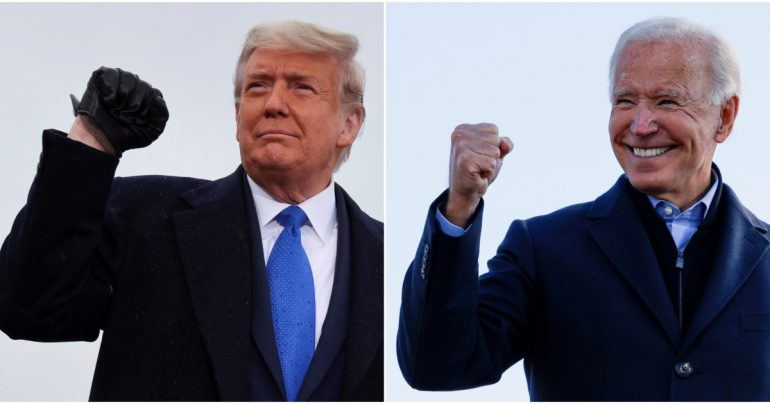 Infographic: What are Biden and Trump's paths forward? | US & Canada