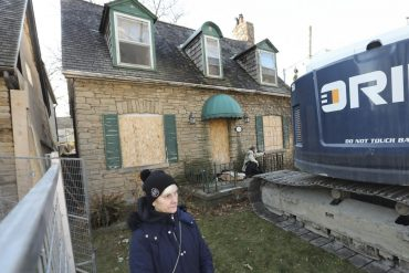 Charlotte Sheasby-Coleman was upset by plans to knock down a historic home in her Mimico neighbourhood.