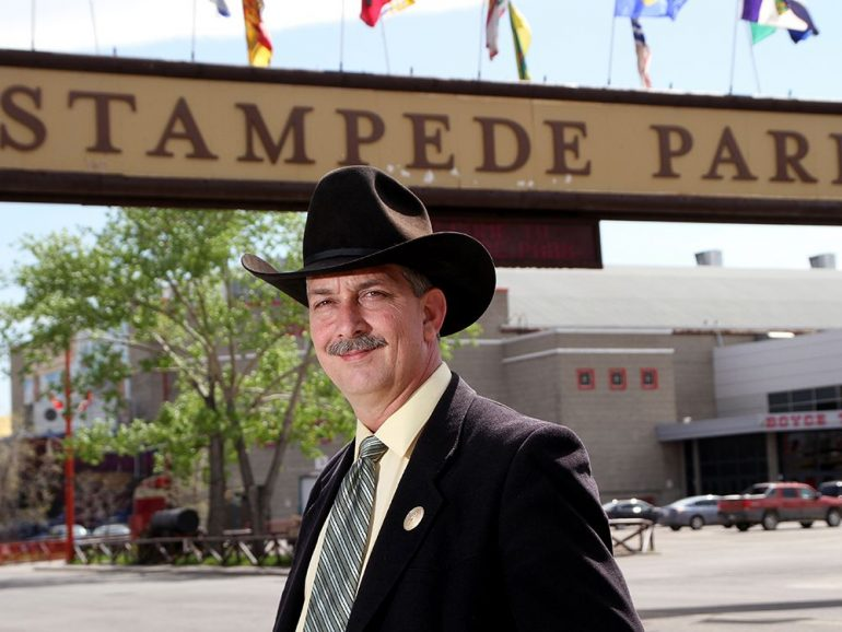 Calgary Stampede CEO Warren Connell dies