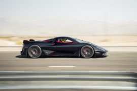 SSC Tuatara falls short in new land-speed record attempt, will run again