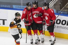 Canada steamrolls Germany to open world junior hockey championship