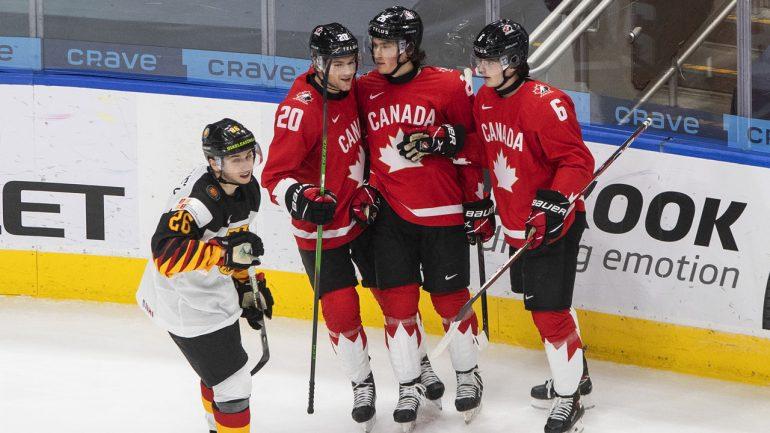 Canada steamrolls Germany to open world junior hockey championship