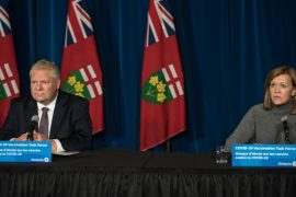 Ontario premier holding emergency meeting with health officials Friday as new COVID-19 cases climb