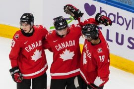 Quinton Byfield breaks out with 6 points as Team Canada blanks Team Switzerland at World Juniors