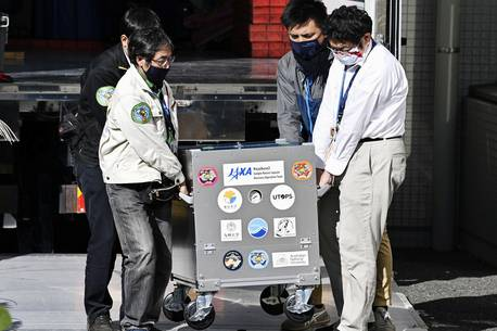 Samples from asteroid more than hoped for, Japan researchers say   World   News