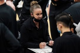 San Antonio Spurs' Becky Hammon first woman to direct NBA team