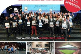 IOC, IPC and IAKS awarding three Architecture Awards for Innovation and Sustainability at 2021