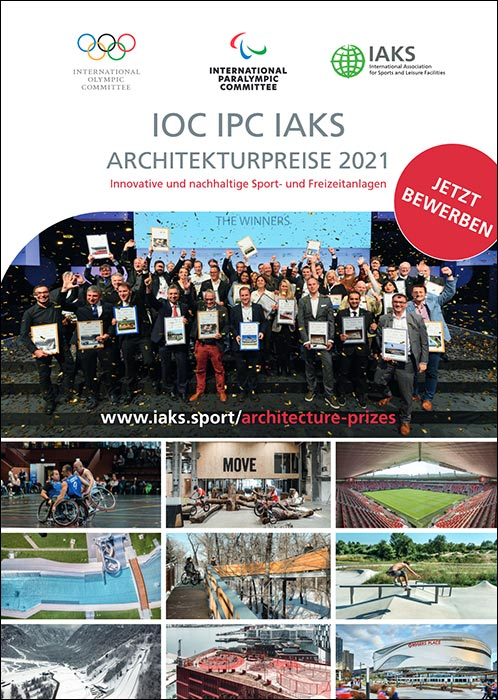 IOC, IPC and IAKS awarding three Architecture Awards for Innovation and Sustainability at 2021