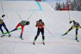 Sensation in Idre Fjäll: Deromedis im Finale - Skicross