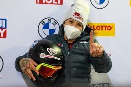 Karlsbad Olympic gold medalist Kaylee Humphries won the bobsleigh race in Germany