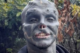 """Anthony Lofredo had his nose and ears removed: French want to become """"Black Alien"""" - News Abroad"""
