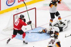 Die deutsche U20-Nationalmannschaft kassierte gegen Kanada eine zweistellige Klatsche.  (Foto: dpa/picture alliance/ASSOCIATED PRESS)