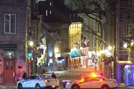 A man in disguise kills two people in Canada