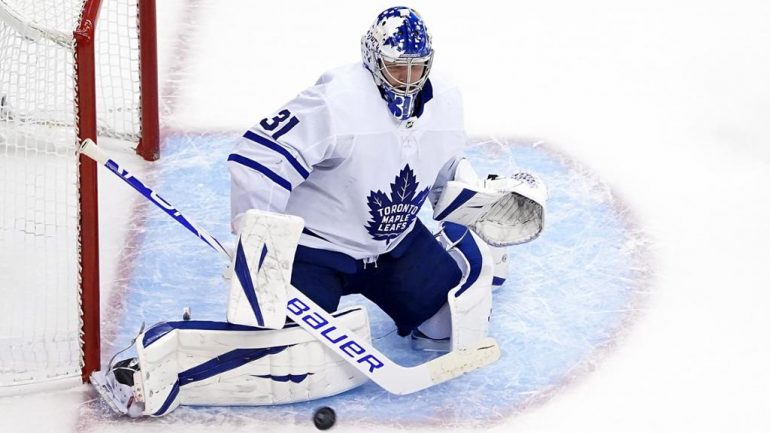 Andersen confident contract talks with Maple Leafs won't be distraction