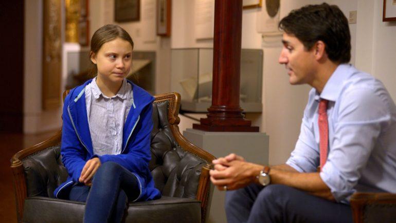 Canada: Justin Trudeau Fakes Greta Thunberg