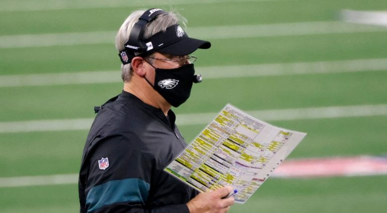 Doug Pederson defends decision to bench Hurts in Eagles' loss