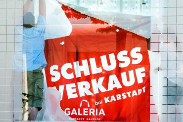 Galeria Karstadt Kaufhof has done nothing for a very long time.  Is over