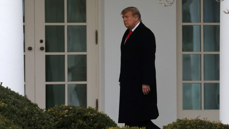 Hacker attack or technical glitch ?: Ministry accidentally reports Trump's departure