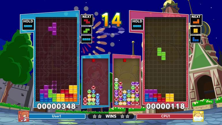 Hedgehog Rust Now Puft in Puyo Puyo Tetris 2