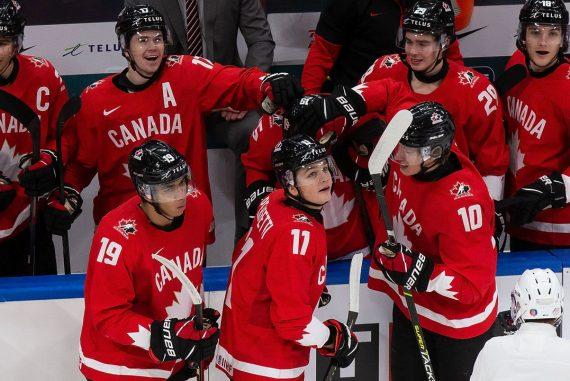 Ice Hockey, U20 World Cup: Final against USA - Winter Games