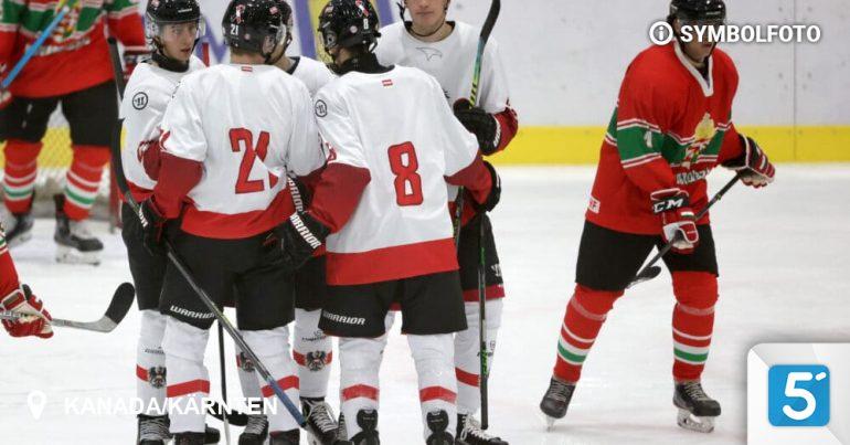 Ice Hockey World Championship: U20 team landed in Canada / Carinthia in Canada - 5 minutes