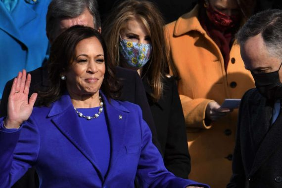Kamala Harris leaves the US Senate and takes up her new post as Vice President