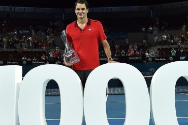 No day like any other: Roger Federer's 1000th win