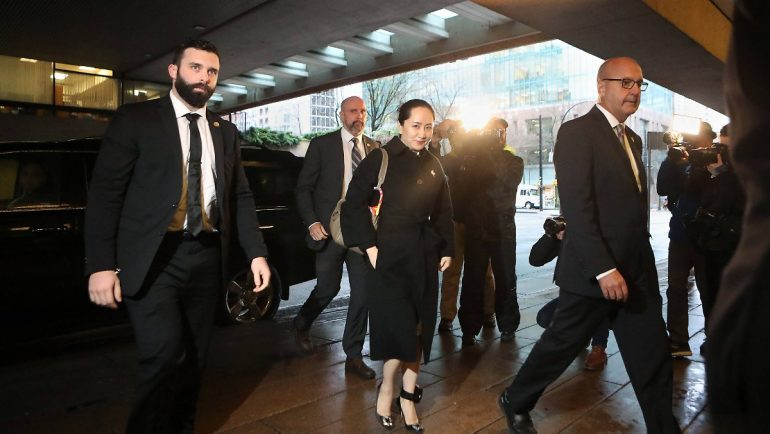 Returning to China soon ?: Huawei's chief financial officer negotiating with US
