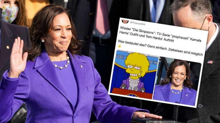 The Simpsons: Was the Series a Prediction of Kamala Harris?  - people