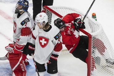 "The Swiss collect ""stanzeli"" against Canada"