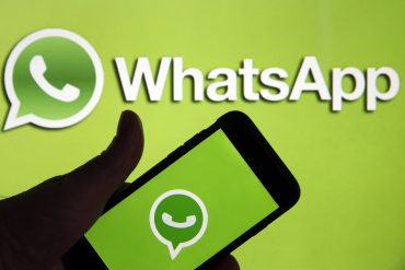 The new WhatsApp function is in the starting block