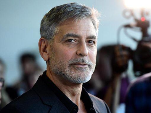 George Clooney: Man kann das Ende des Tunnels sehen.. Foto: Ian West/PA Wire/dpa Foto: dpa