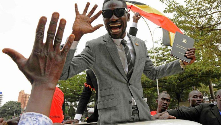 Uganda: Opposition candidate Bobby Vine declared himself the winner of the presidential election