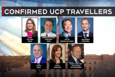 Uproar over holiday travel of Alberta politicians amidst pandemic