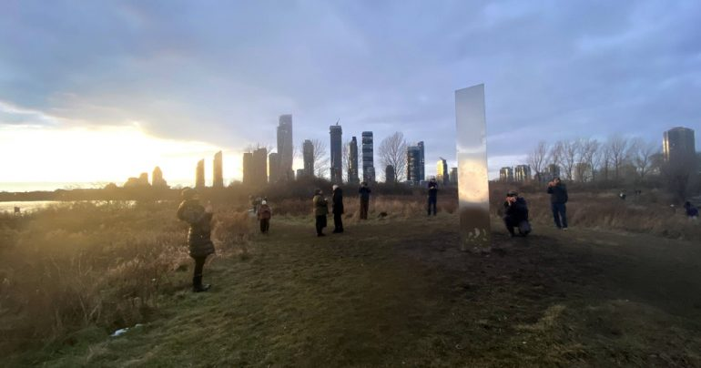Ontario: New mysterious monoliths exposed