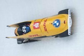 Bobsleigh World Cup: Frederick walks ahead in ice