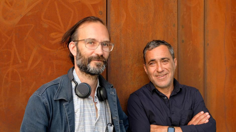 Brechtfits 2021 will be fully digital.  Festival organizers Tom Kuhnel (left) and Jürgen Kutner decided to return in October.