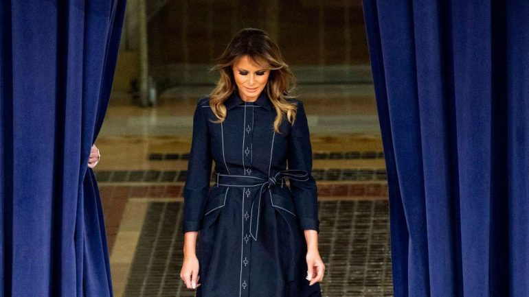 """Melania Trump: """"Melania Not Recognized as First Lady"""""""