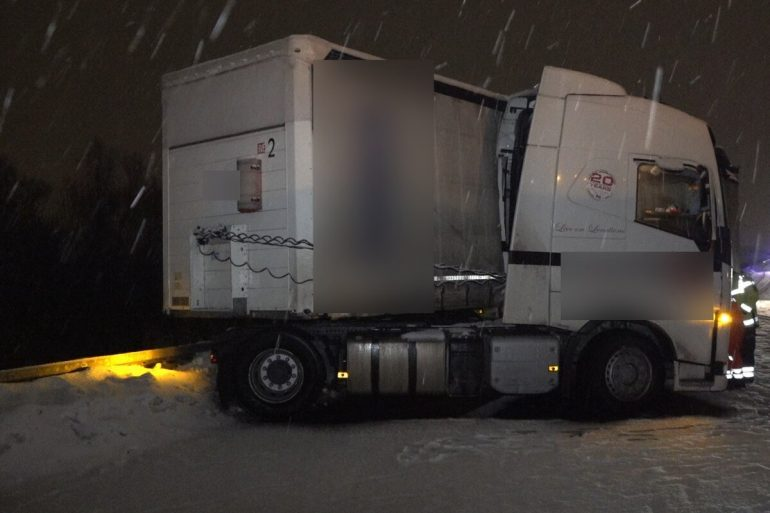 Caution, smoothness!  Accidents occur in Leipzig area due to weather
