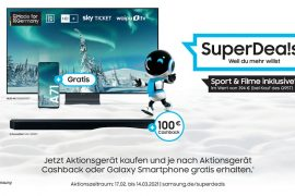 Samsung TV Promotions: Cashback or Smartphone for Free