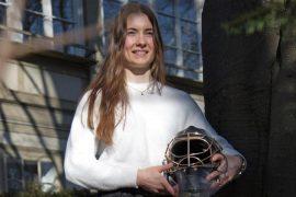 Burnt Ice Hockey Goalkeeper - Saskia Maurer's Extraordinary Year